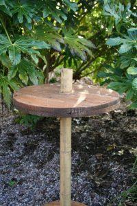 Tropical Poseur Table