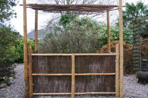 Thatched Bamboo Tiki Bars
