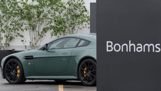 Aston Martin hire includes Birch trees & topiary spirals