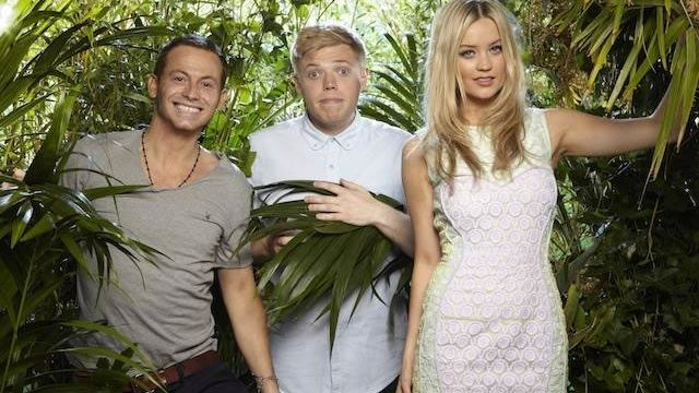 Greenery photoshoot for ITV