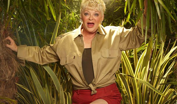Jungle photo shoot with Crissy Rock, I'm a Celebrity