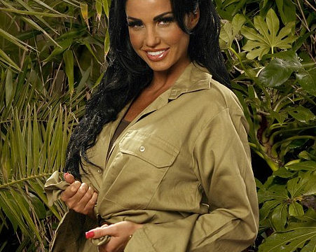 Jungle photo shoot with Katie Price, I'm a Celebrity