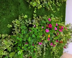 L'Oreal hired Real Oasis to create a living wall