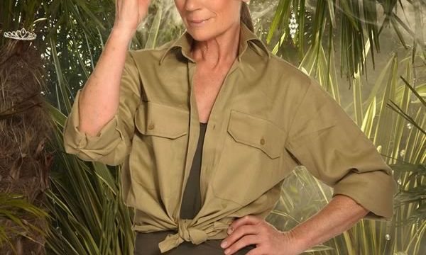 Plants hired to create a Jungle for I'm a Celebrity photoshoot with ITV