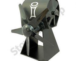 Heat Powered Fan for wood burners