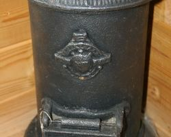 1830 wood burner called the tortoise stove