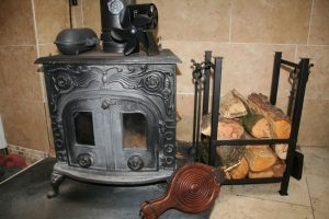wood burnering stove and accessories
