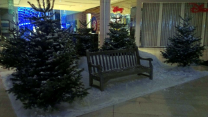 fir-tree-fake-snow-twilight-westfield-london