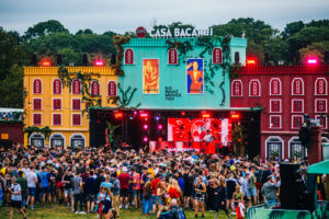 Casa Bacardi at the Electric Picnic Stradbally, Laois Image Michael Donnelly